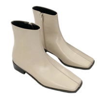 Square center line boots