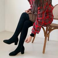 Suede High Long Boots