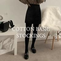 Cotton Basic Stockings