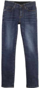 Warm denim rush straight line-8233