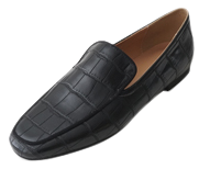 steady glossy middle loafer
