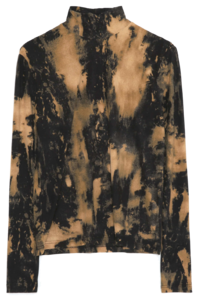 back-button tie-dye pola T (3 color) - woman