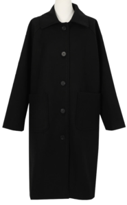 Raven Wool Single Coat
