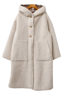 Fleece River Long Hooded Coat 大衣外套
