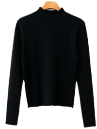 Rolling Turtleneck Slim Knitwear