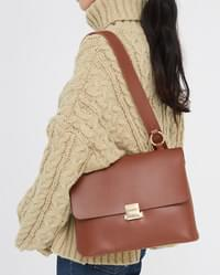 graceful square shoulder bag