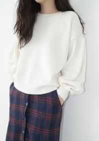fresh basic loose knit top (3colors)