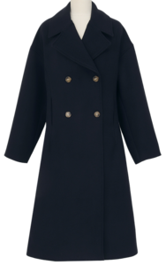 Flame wool double coat_J (울 30%) (size : free)