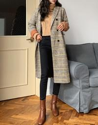 Check Betty Numblong Coat
