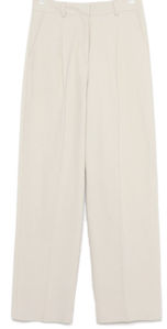 chino cotton straight pants