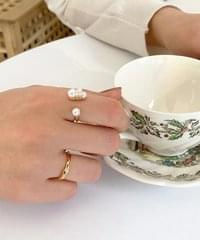 snow pearl ring 戒指