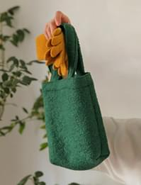 Charming wool tote bag_H (size : one)