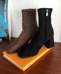 Wind suede ankle boots