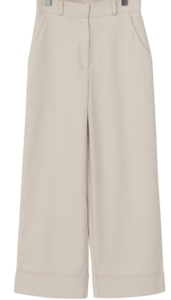 Sense long wide pants_H pants