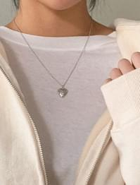 Minimalist Heart Pendant Necklace