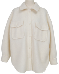Sugar wool shirts jacket_H (size : free)