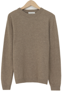 Simple merino wool knit_U (size : free)