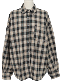 Almost wool check shirts_P (울 10%) (size : free)