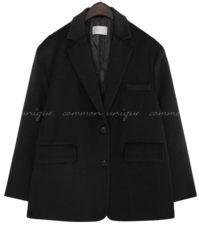 VINT WOOL SINGLE JACKET - 2 TYPE