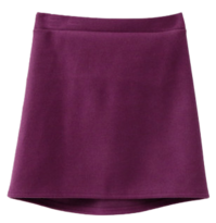Wool span mini skirt