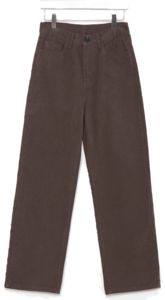 volly straight cotton pants