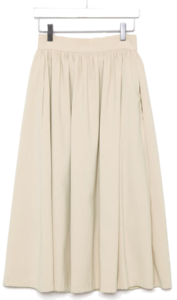 lovely flare midi skirts