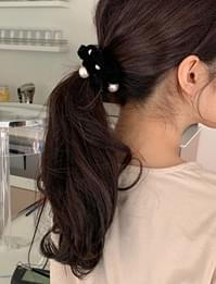 Pearl point hair string_J