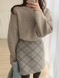 Candy Pepper Round Knit _H