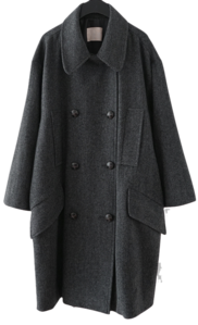 vintage mood semi pea coat
