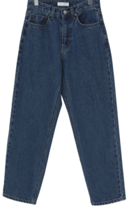 Kind warm denim pants_H (size : S,M)