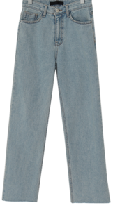 Cutting warm denim pants_C (size : S,M,L) 牛仔褲