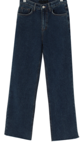 Cutting warm denim pants_C (size : S,M,L)