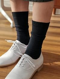 Simply color long socks_Y (size : one)