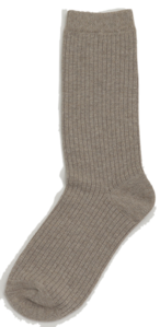Golgi color long socks_J (size : one)