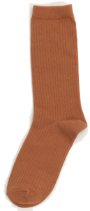 Golgi color long socks_J