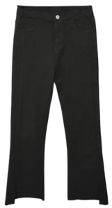 Women's brushed slacks bootcut