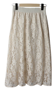 Dearin Lace Skirt