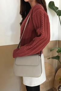 Modern square shoulder bag