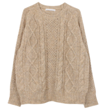 Soft twist knit