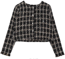 Pearl Tweed Short Jacket