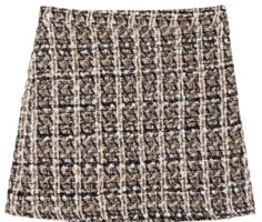 Tweed mini skirt 裙子