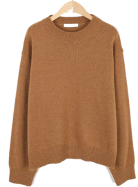 Half Neck Mohair Knit