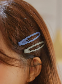 BILLOW COLOR WAVE HAIR PIN 配飾