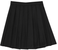 Soho pleated mini skirt