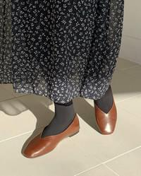 nuage line flat shoes