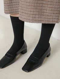 Basic golgi long socks_U