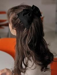 Ribbon point hair pin_J