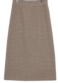 Cleo a-line long skirt_U (size : S,M)