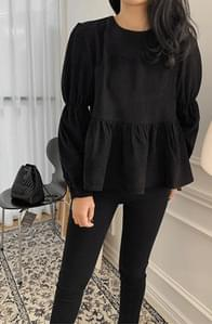 Seine Zangoldden Shirringblouse