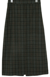 Berny wool long skirt_Y (size : free)
